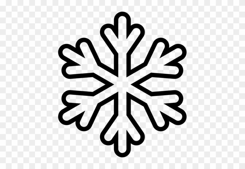 Clipart Snowflake Snowflakes Transparent Background - Molde De Copo De Nieve #1018937
