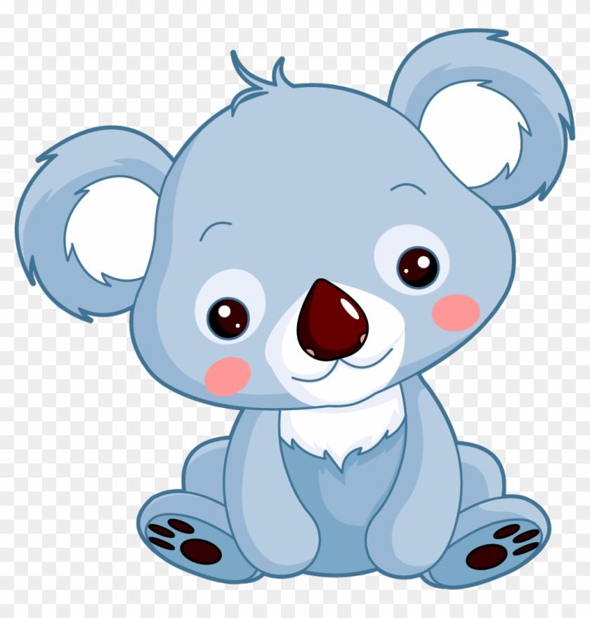 Koala Giant Panda Baby Bears Drawing Animaux Mignon Dessin Couleur
