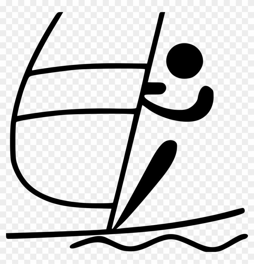 Open - Olympic Sports Pictogram #1019332