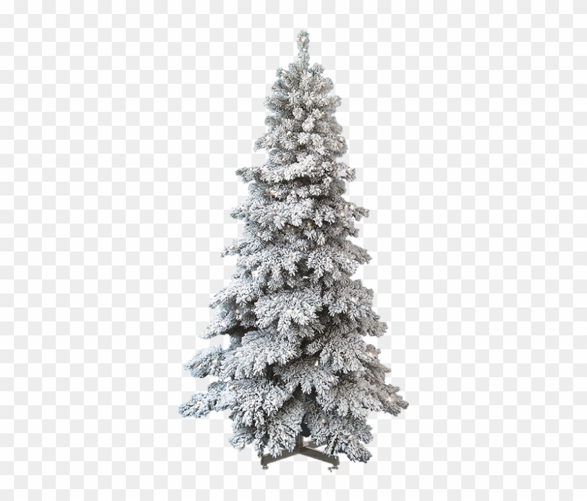 Spruce Snow Capped Artificial Christmas Tree Regarding Heavily