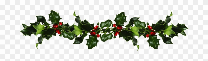 Holly And Mistletoe - Mistletoe And Holly Png #1019872