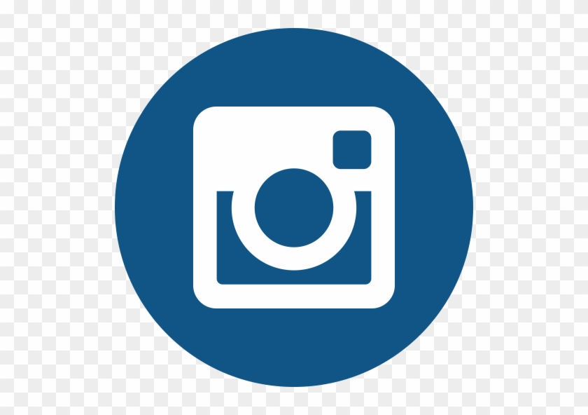 Social Media & Networks - Instagram Circle Icon #1020026