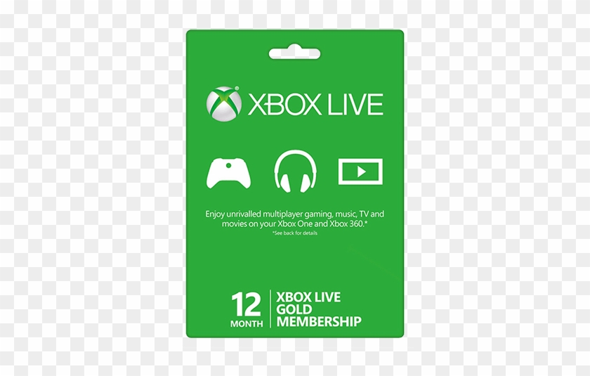 12 Months Xbox Live Gold Code - Xbox Live Gold Card - Free