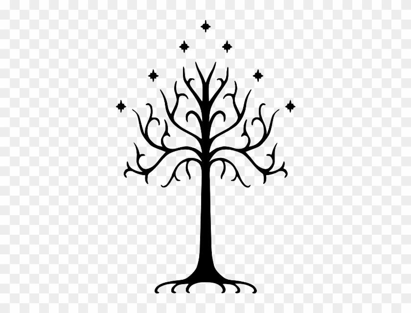 The White Tree Of Gondor I Have This On My Foot Lol - Lord Of The Rings Tree #1020423