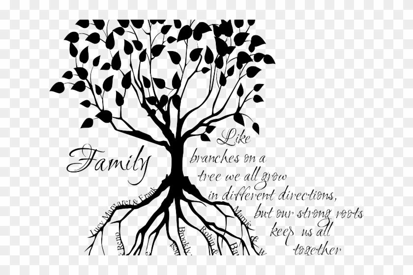 Roots Clipart Family Tree Family Tree Tattoo Free Transparent
