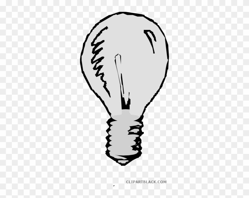 Light Bulb Tools Free Black White Clipart Images Clipartblack - Light Bulb Animation Png #1021619