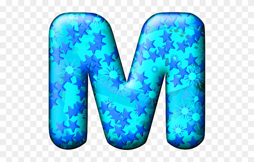 Party Balloon Cool Letter M - Cool Letter M #1021743
