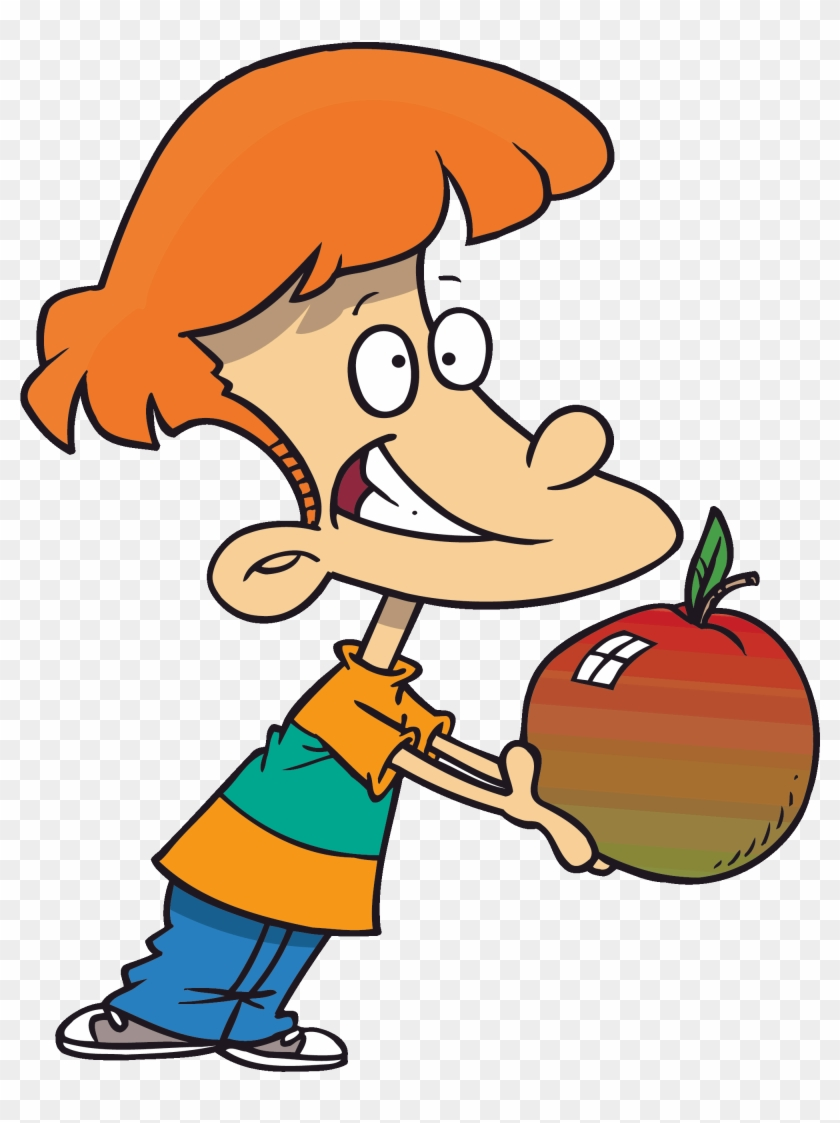 Apple Clipart For Kid Boy With Apple Clipart Free Transparent Png Clipart Images Download