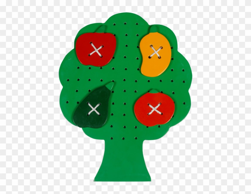 Sewing Tree With Fruits - Little Genius Sewing Tree With Fruits, Multi Color #1022197