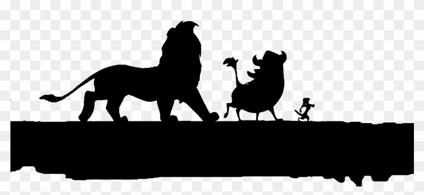 Lion King Tree Silhouette Lion King Hakuna Matata Silhouette Free Transparent Png Clipart Images Download