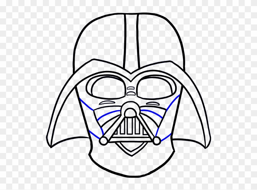 Styles Darth Vader Cartoon Drawing As Well As Darth Easy To Draw