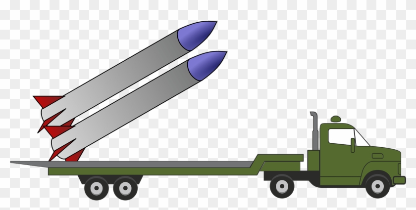 Could North Korean Nuclear Missiles Reach The Uk - Lunch Box With Truck Loading Missile #1023260