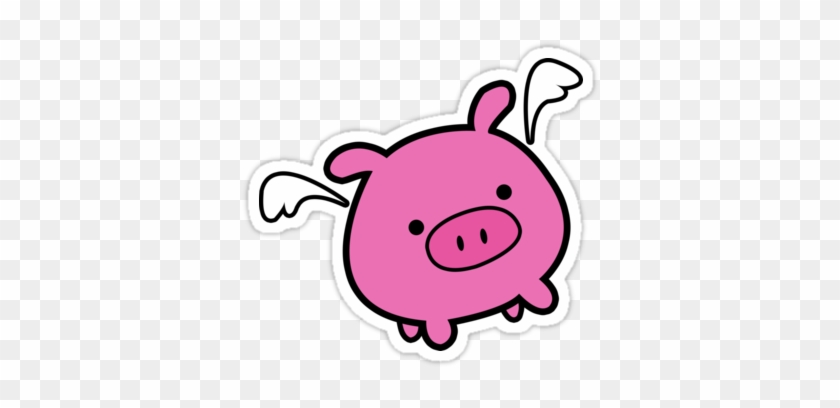cute pink flying pig pig flying cartoon cute free transparent