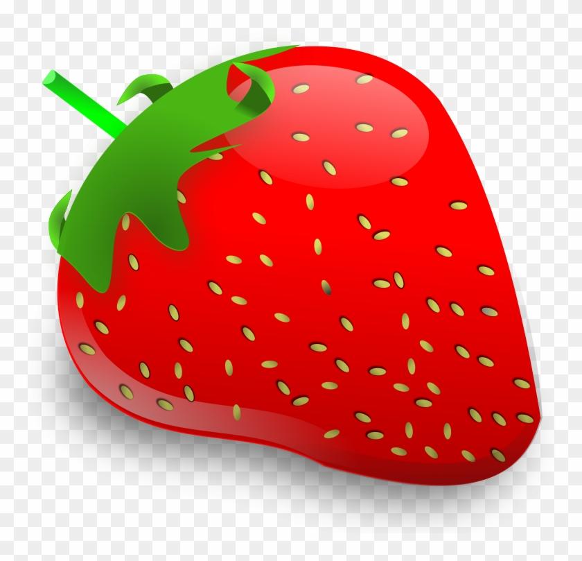 Fruit Clipart, Mango Clipart, Strawberry - Strawberry Fruit Clipart #1024251