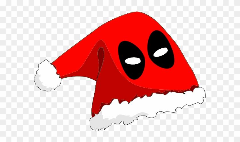 Deadpool Christmas Hat Anyone - Santa Hat Clip Art #1025511