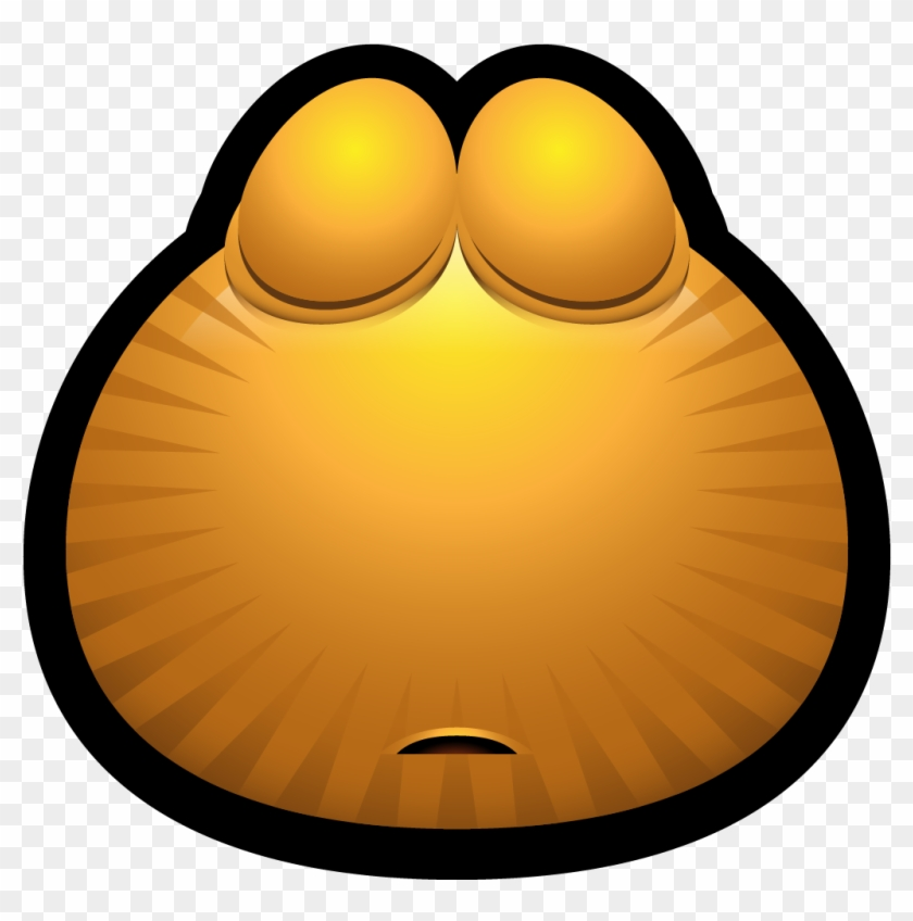 Avatar, Brown, Emoticon, Monster, Monsters, Sleeping, - Poker Face Emoticon #1025755