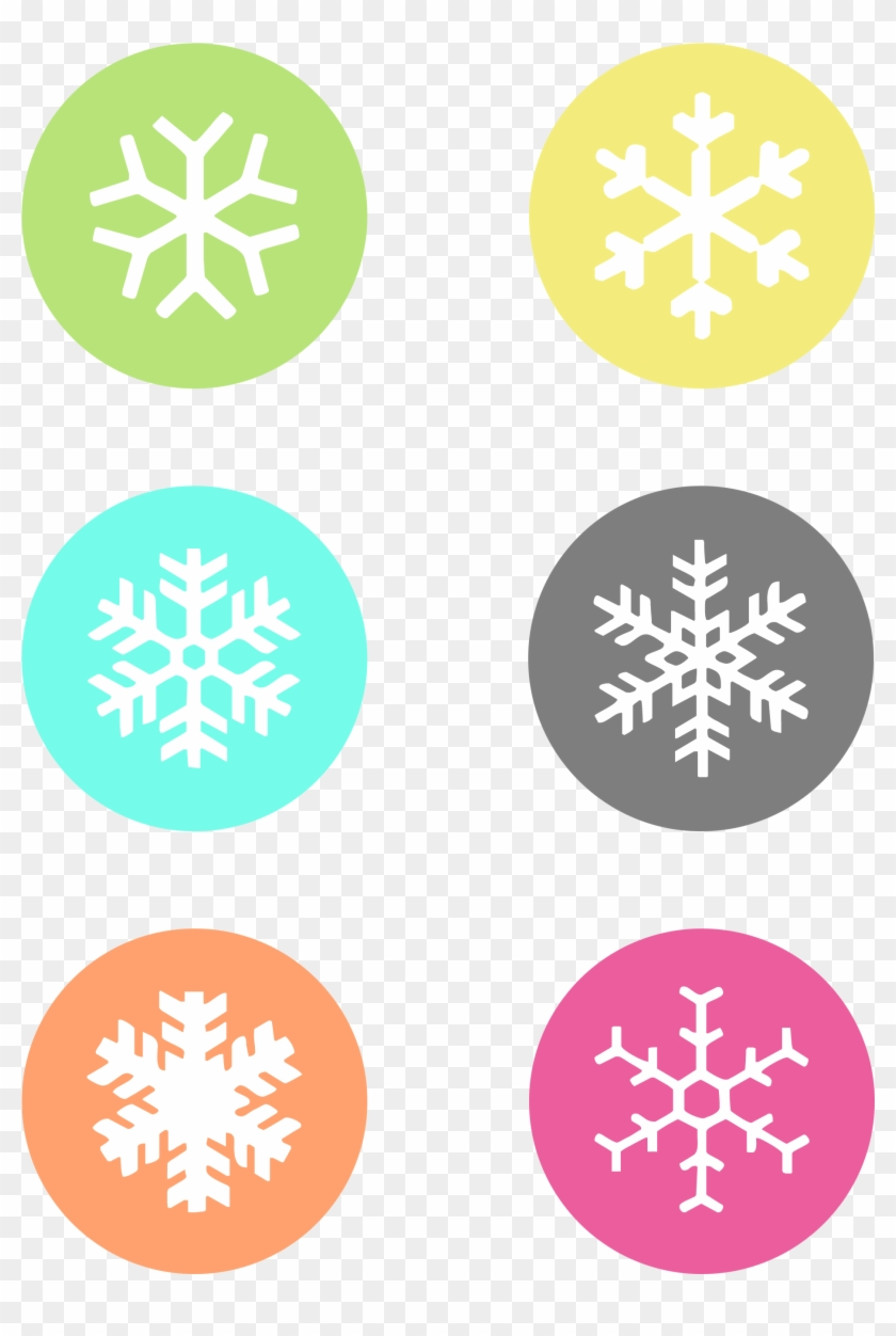 photo about Printable Snowflakes named No cost Printable Snowflake Reward Tags - Carolines Treasures