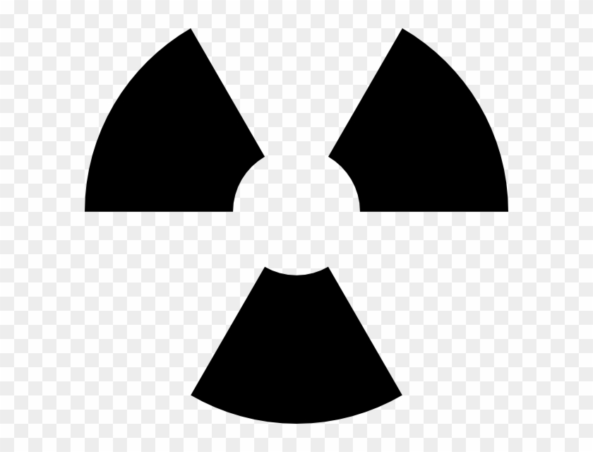 Nuclear Symbol Outline Drawing Clip Art At Clipart Atomic Bomb
