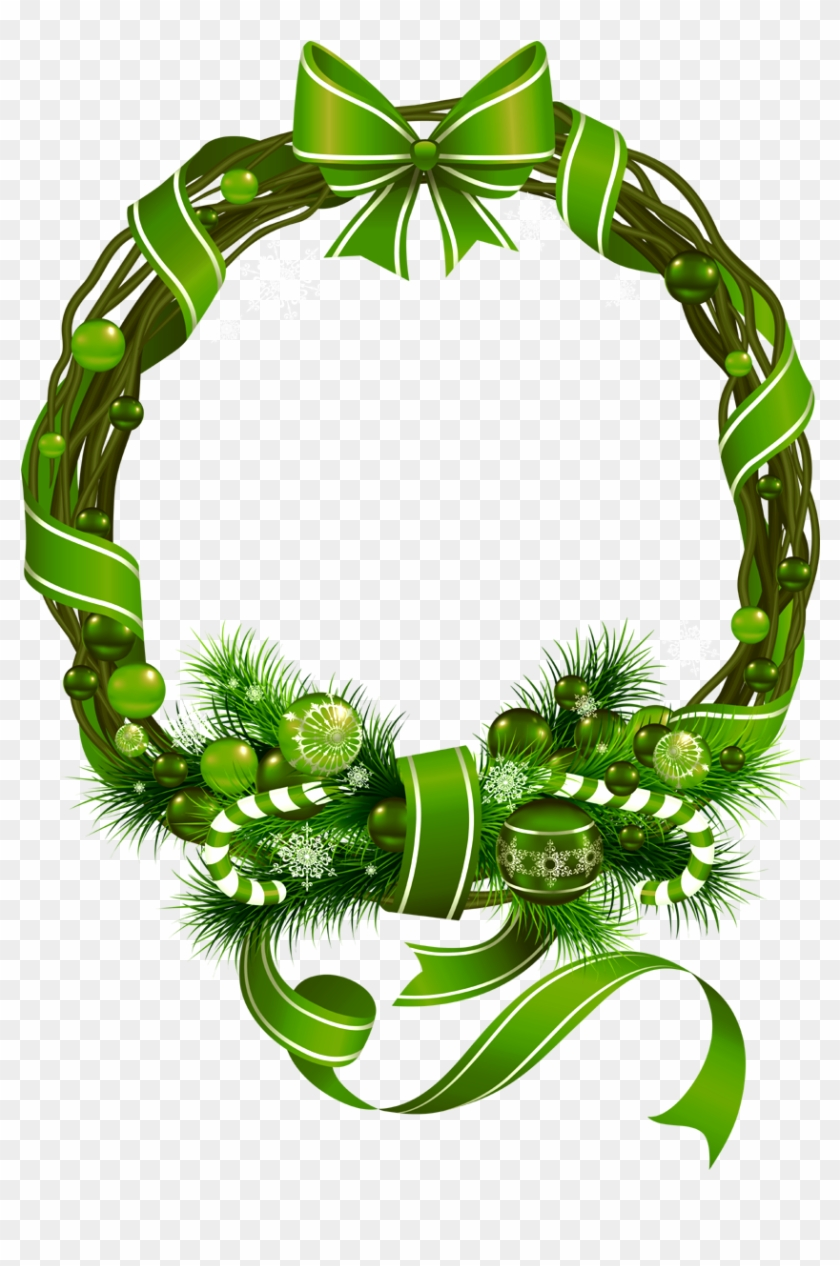 round christmas ribbon wreath merry christmas png