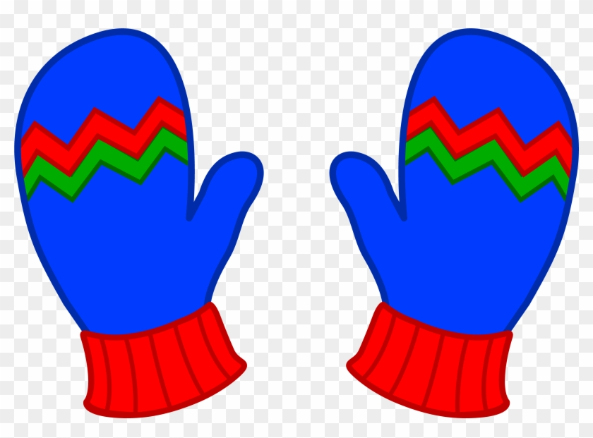 Trends For Kid Jacket Clipart - Mittens Clipart #178502