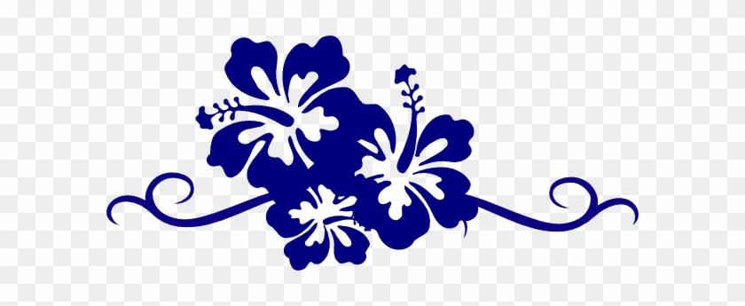 Hibiscus Flower Border Clipart Blue Flowers Clip Art Border Free