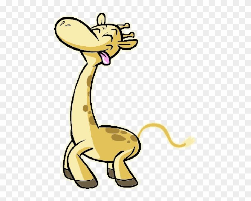 Funny Giraffe Cartoon Clip Art - Sparks Sucks To Be You #178614