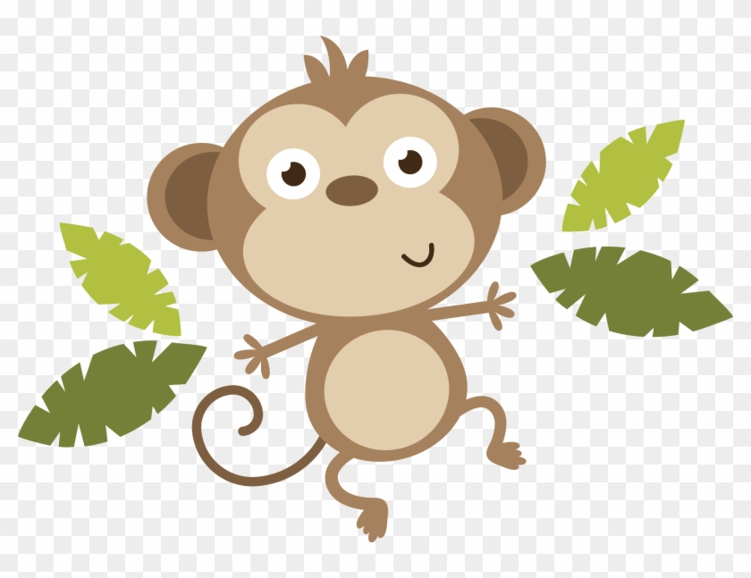 Monkey - Baby Monkey Clipart Png #178684