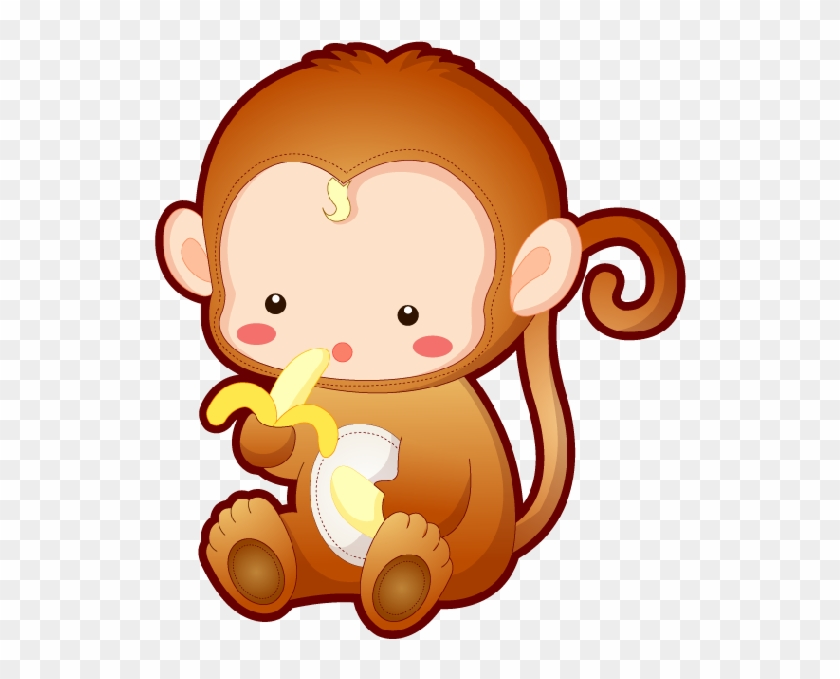Animated Monkeys Pictures - Baby Monkey Cute Cartoon #178734