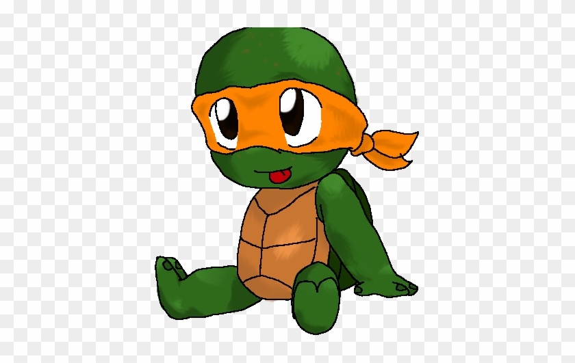 Baby Ninja Turtle Cartoon Teenage Mutant Ninja Turtles Baby