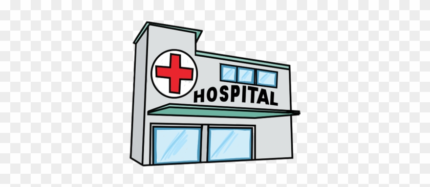 Hospital Free To Use Clipart - Cartoon Picture Of Hospital #178952