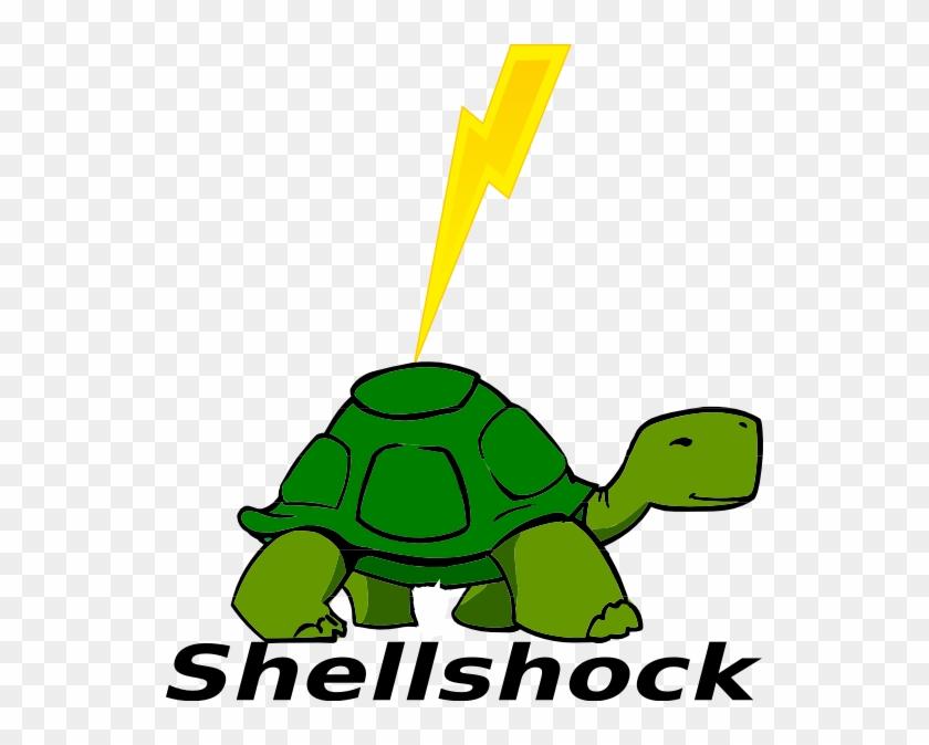 Shellshock Logo Clip Art - Turtle Talk Speech Therapy #179011