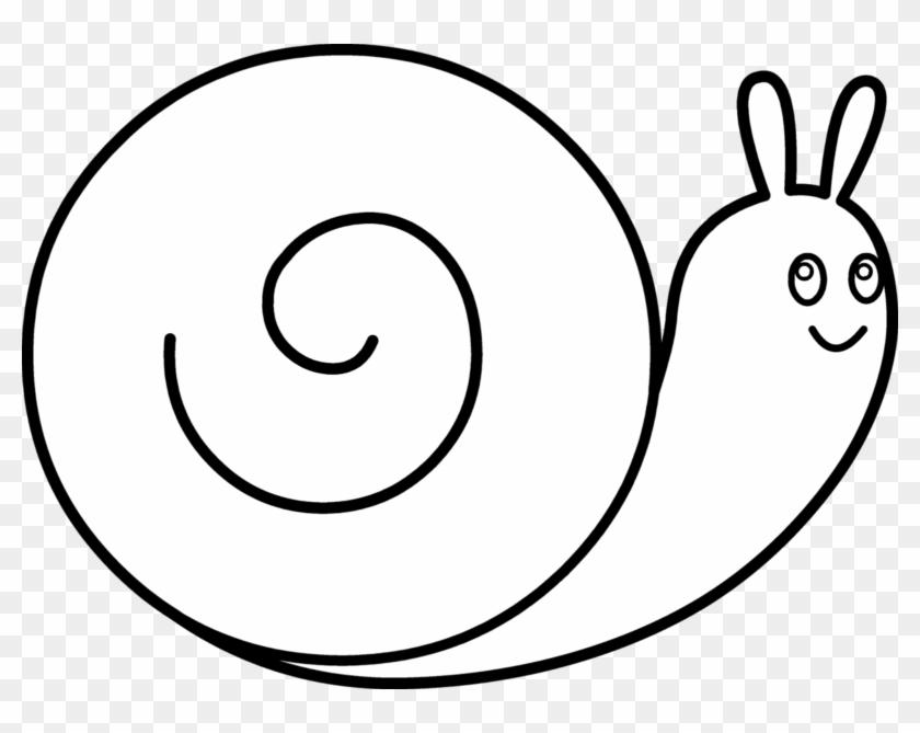 Snail Clip Art - Black And White Snails #179081