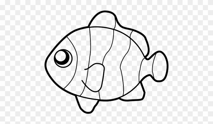 Peces Para Colorear - Fish Coloring Pages #179120