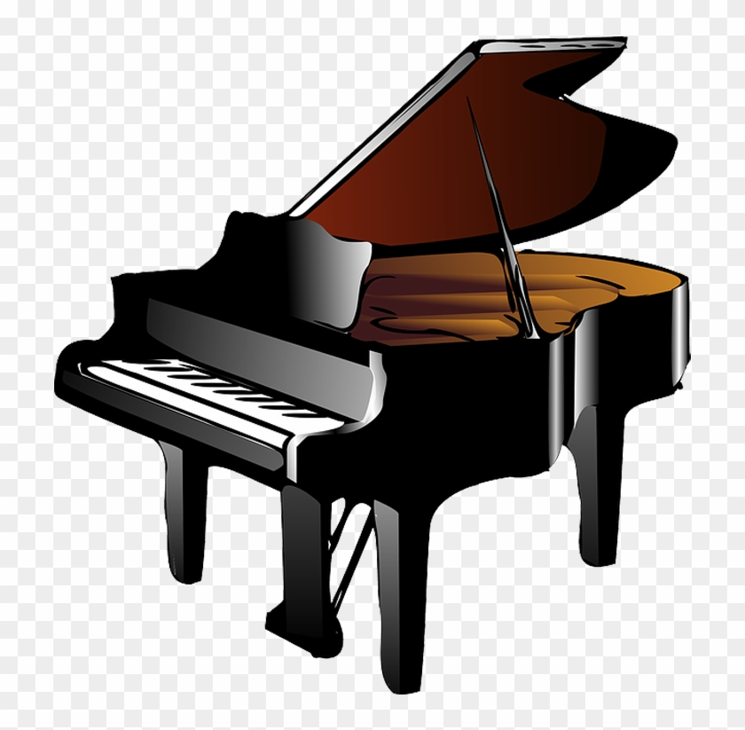 Download Png Image Black Yamaha Grand Piano Free Transparent Png Clipart Images Download