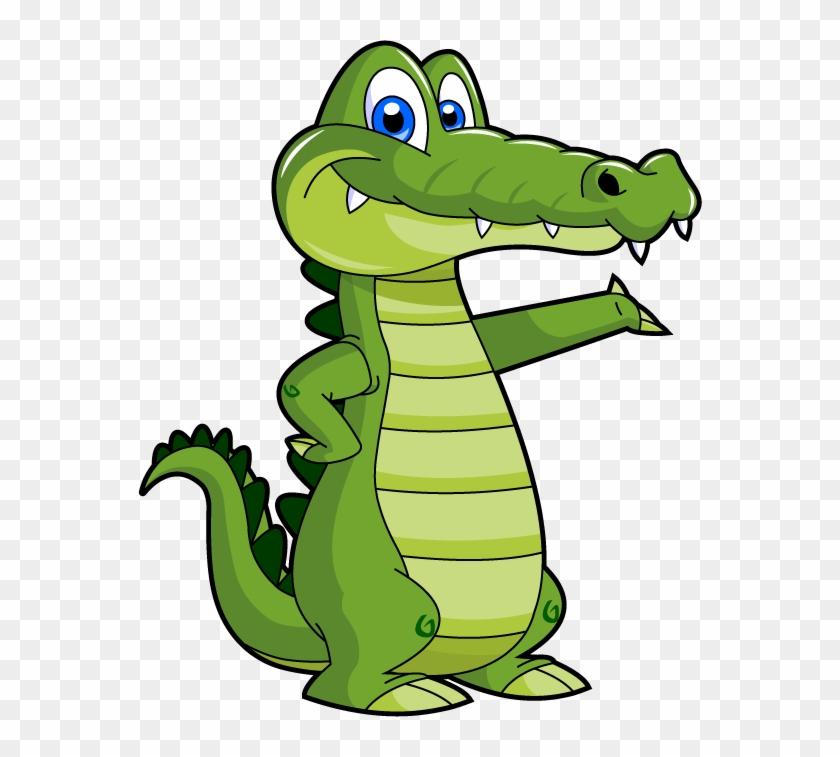 Cute - Alligator - Clipart - Crocodile Cartoon #179364