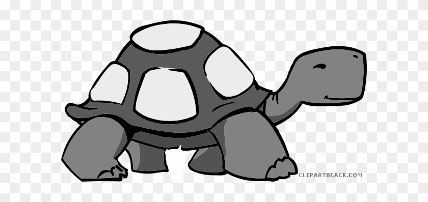 Cute Turtle Animal Free Black White Clipart Images - Turtle Talk Speech Therapy #179458