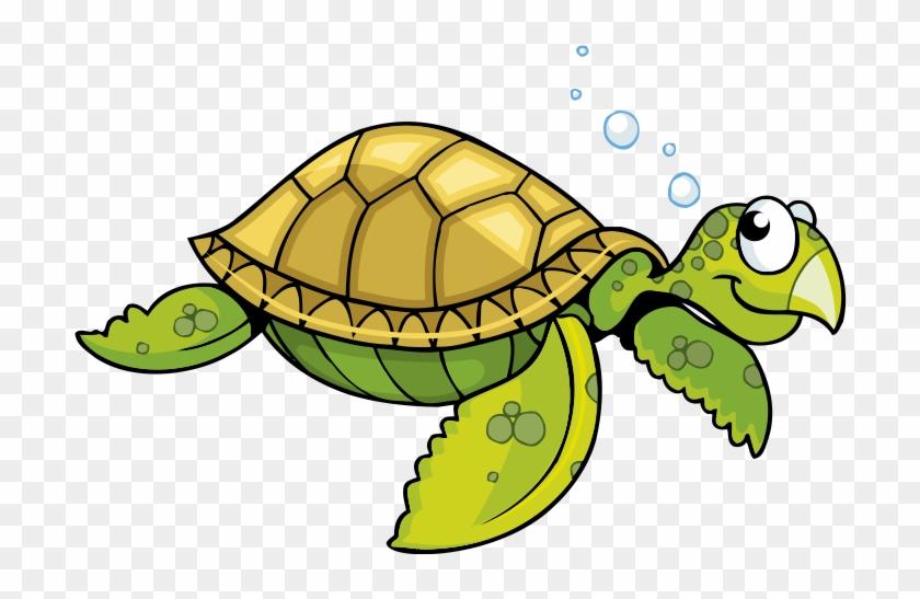 Sea Turtle Tortoise Cartoon - Green Sea Turtle Cartoon #179495