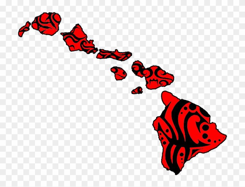 Hawaiian Islands Clip Art #179587