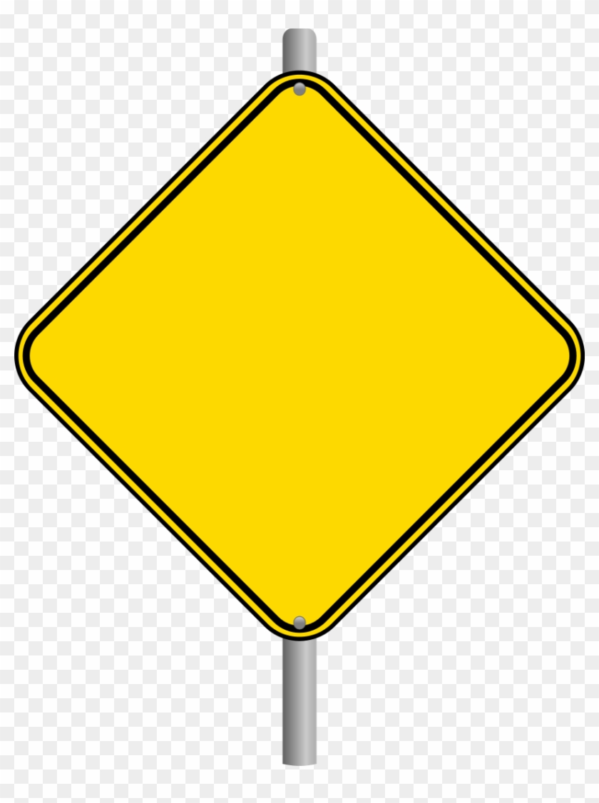 blank - newspaper - clipart - blank road sign transparent - free