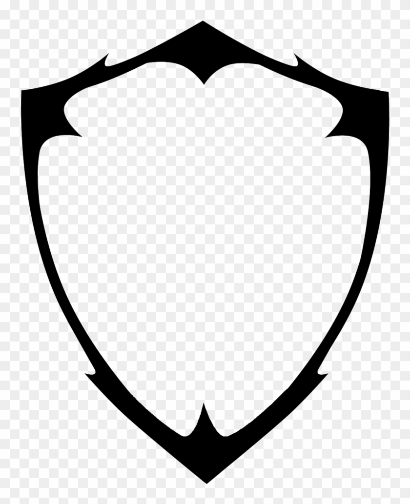 Blank Shield Logo Vector Png Image - Shield Png #179766