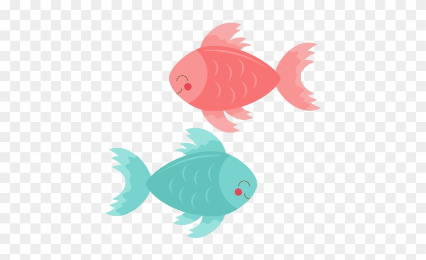 Seafood Clipart Cute - Cute Fish Clipart #180025