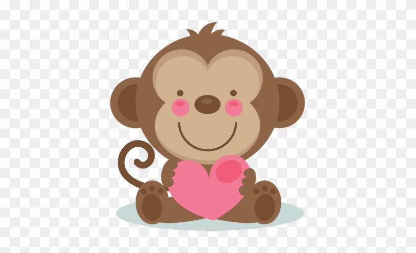 Similar Cliparts - - Baby Safari Monkey #180344