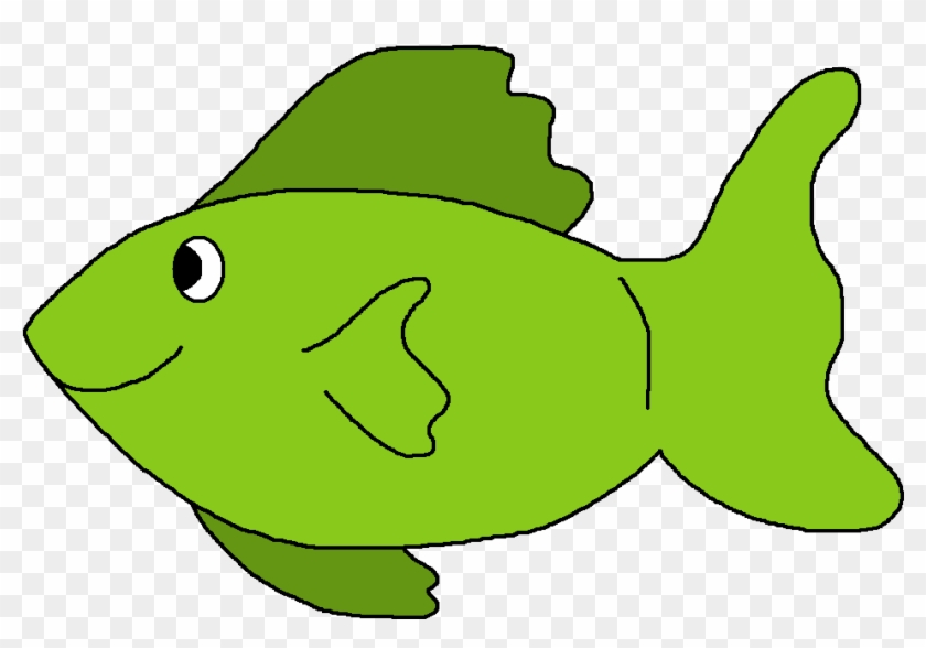 Animal Clipart Images - Green Fishes Clipart #180351