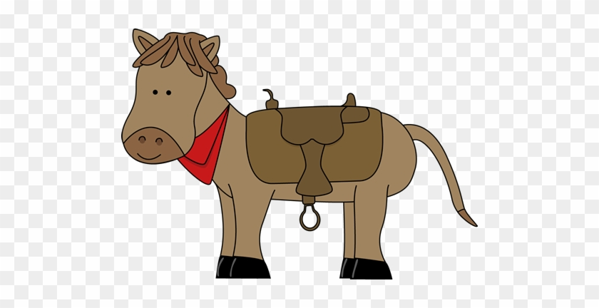 Western Horse Clipart - Ride A Horse Clipart #180404