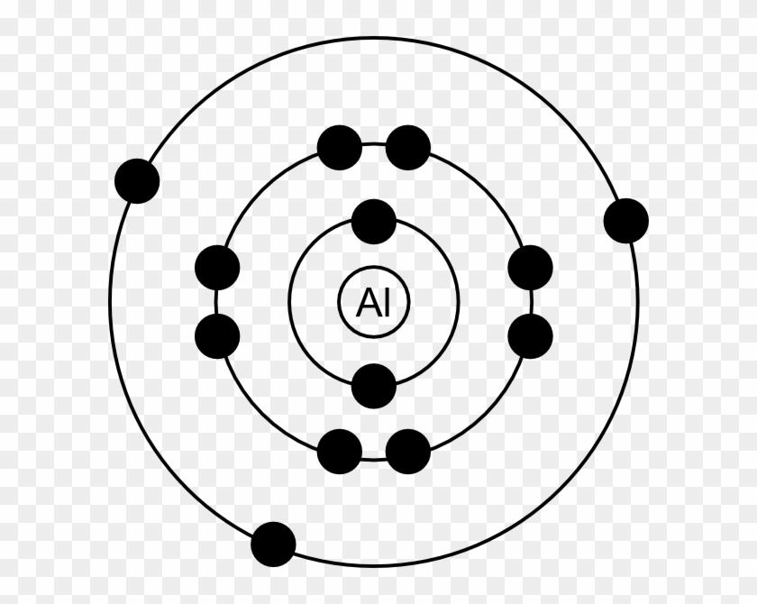 Aluminum Bohr Model Bohr Model For Aluminum Free Transparent Png