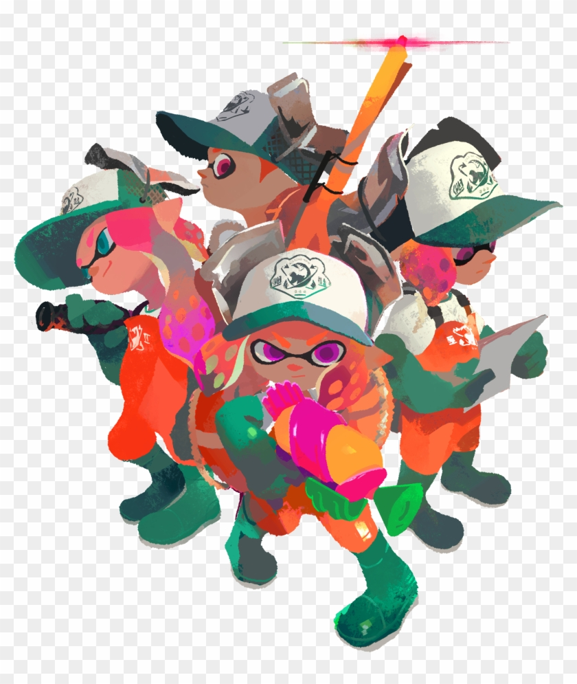 Splatoon 2 Set To Colour Your World Late This July - Salmon Run Splatoon 2 #180658