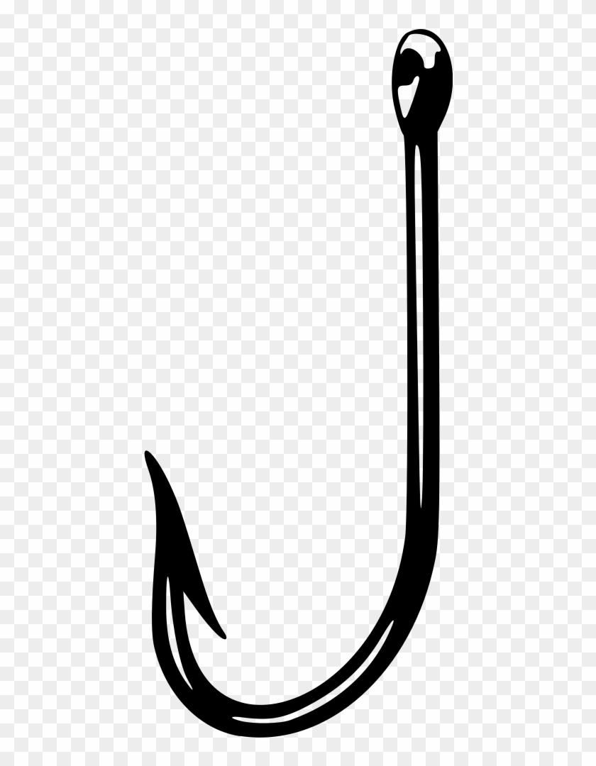 Fish Hook - Clip Art Fish Hook #180751