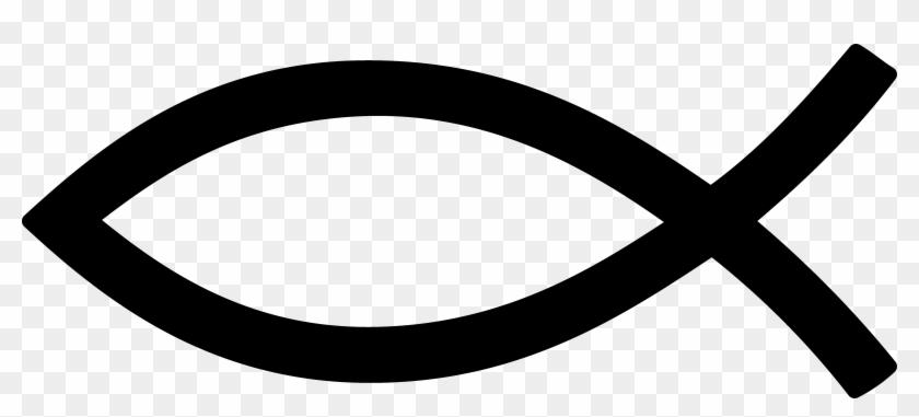 Black Christian Fish Symbol Jesus Fish Png Free Transparent Png