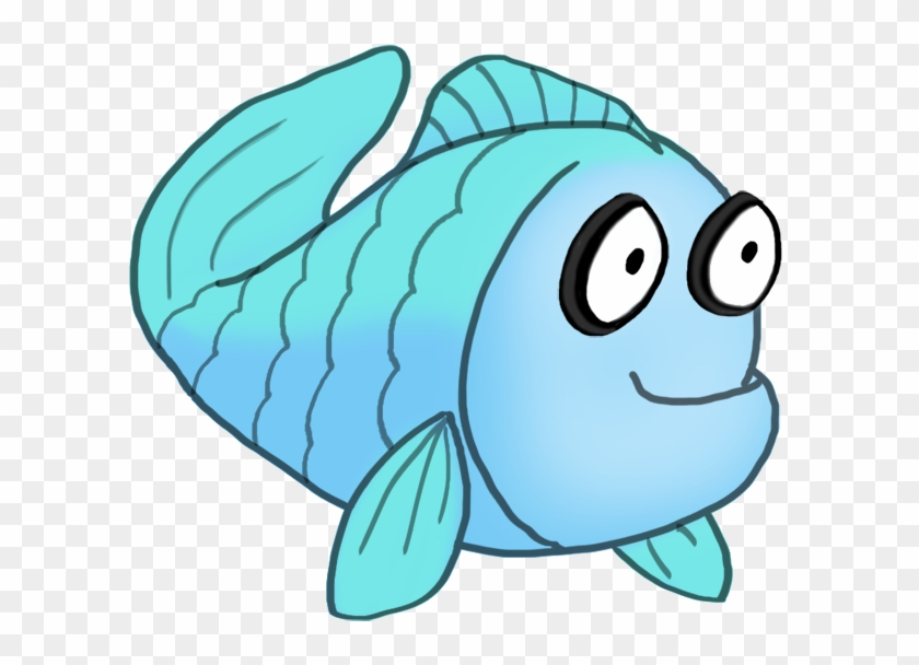 Butterfly Cartoon Clipart, Blue Cartoon Drawing Of - Coral Reef Fish #180888