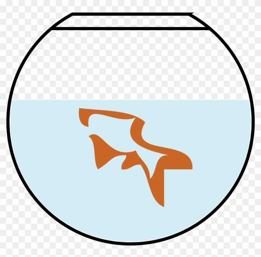 Free Fish In Bowl - Goldfish #180986